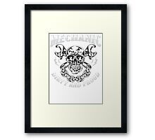 MECHANIC DIRTY AND PROUD Framed Print