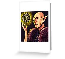 Fen'Harel and his Orb Greeting Card