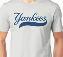 NY YANKEES SIMPLE Unisex T-Shirt