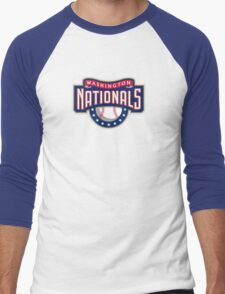 WASHINGTON NATIONALS Men's Baseball ¾ T-Shirt