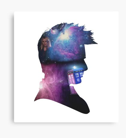 Doctor Who 10 Canvas Print