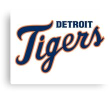 DETROIT TIGERS ALL THE TIME Canvas Print