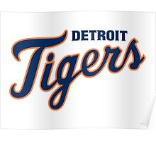 DETROIT TIGERS ALL THE TIME Poster