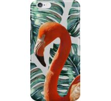 Flamingo Self Portrait #redbubble #home #lifestyle #fashion iPhone Case/Skin