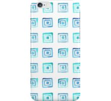 Watercolor pattern square iPhone Case/Skin