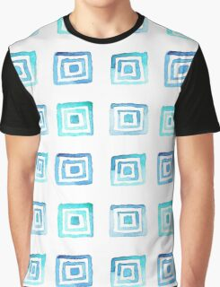 Watercolor pattern square Graphic T-Shirt