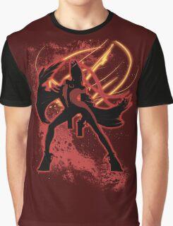 Super Smash Bros. Red Bayonetta (Original) Silhouette Graphic T-Shirt