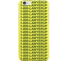 SAUL-LINE BLING iPhone Case/Skin