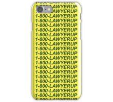 SAUL-LINE BLING iPhone Case/Skin