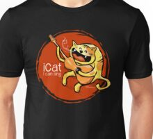 iCat - I can sing (reds) Unisex T-Shirt