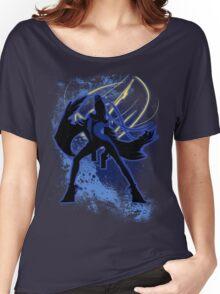 Super Smash Bros. Blue Bayonetta (Original) Silhouette Women's Relaxed Fit T-Shirt