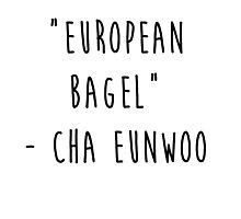 European Bagel Photographic Print