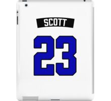 Nathan Scott 23 Jersey iPad Case/Skin