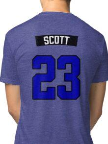 Nathan Scott 23 Jersey Tri-blend T-Shirt