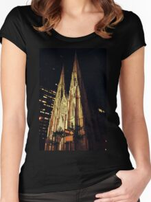 Gothic Women's Fitted Scoop T-Shirt