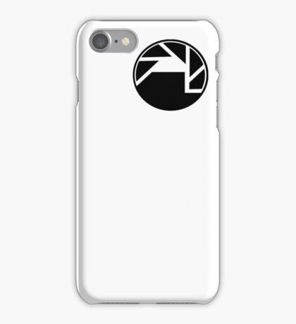 Black Mesa and Aperture Science Logos iPhone Case/Skin