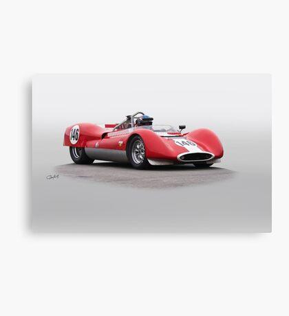 1963 Genie Mk 7 Vintage Racecar Canvas Print