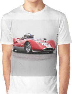 1963 Genie Mk 7 Vintage Racecar Graphic T-Shirt