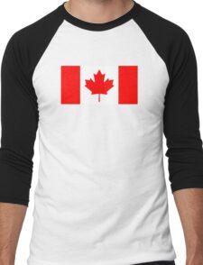 Canadian Flag Men's Baseball ¾ T-Shirt