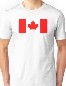 Canadian Flag Unisex T-Shirt
