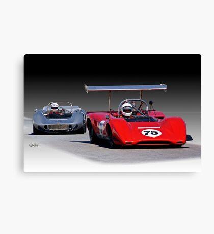 1963 Lola M163 Vintage CanAm Racecar Canvas Print