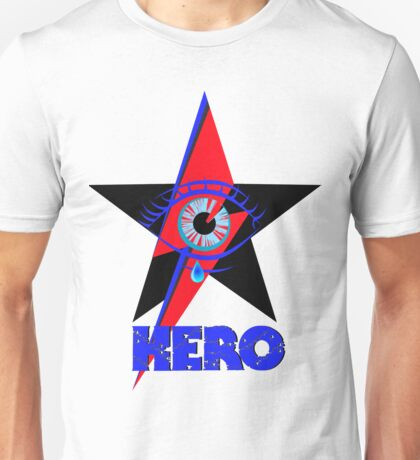 "David Bowie ""Hero"" Unisex T-Shirt"