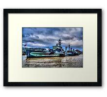 HMS Belfast Framed Print