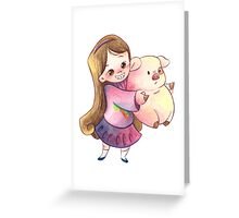 Shooting Star Greeting Card