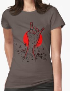 Dawn of the Death Metal Womens Fitted T-Shirt