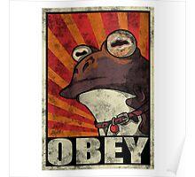 Ipnotoad obey Poster