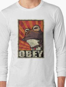 Ipnotoad obey Long Sleeve T-Shirt