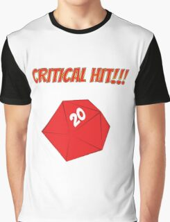 Critical Hit!!! Graphic T-Shirt