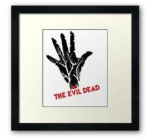 the evil dead game logo Framed Print