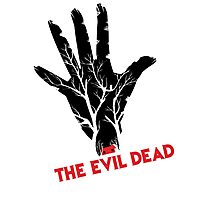 the evil dead game logo Photographic Print