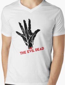 the evil dead game logo Mens V-Neck T-Shirt