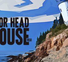 Bass Harbor Head Lighthouse Sticker