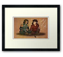 Avatar's Valentine Framed Print