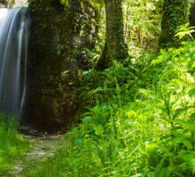 Beautiful Waterfall in France Sticker