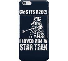 R2-D2 Star Trek Dalek iPhone Case/Skin