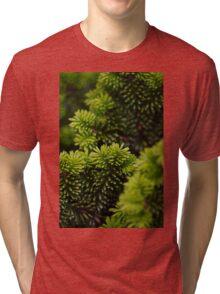 green layers Tri-blend T-Shirt