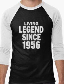 LIVING LEGEND SINCE 1956 Men's Baseball ¾ T-Shirt