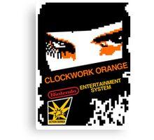 CLOCKWORK GAME Canvas Print