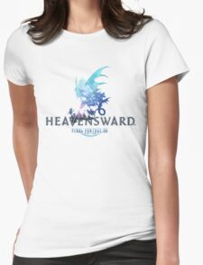 Final Fantasy XIV Heavensward Logo Womens Fitted T-Shirt