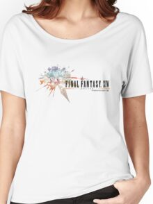 Final Fantasy XIV Logo Women's Relaxed Fit T-Shirt