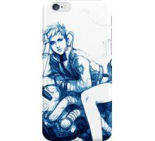 Girl and Bike 4 iPhone Case/Skin