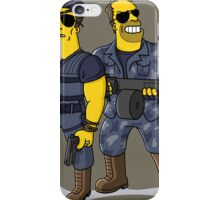 Sylvester Stallone and Arnold Schwarzenegger iPhone Case/Skin