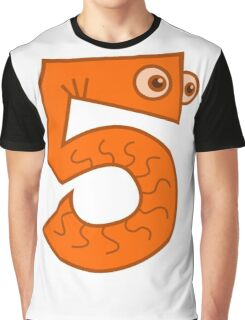 5 - Five Graphic T-Shirt