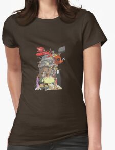 studio gibli Womens Fitted T-Shirt
