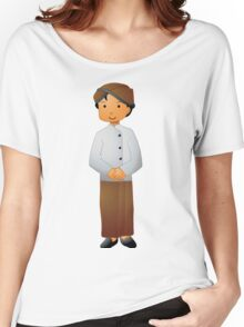 Traveler Kids - Traditional Dress Edition - Javanese Women's Relaxed Fit T-Shirt