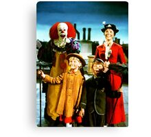 PENNYWISE IN MARY POPPINS Canvas Print